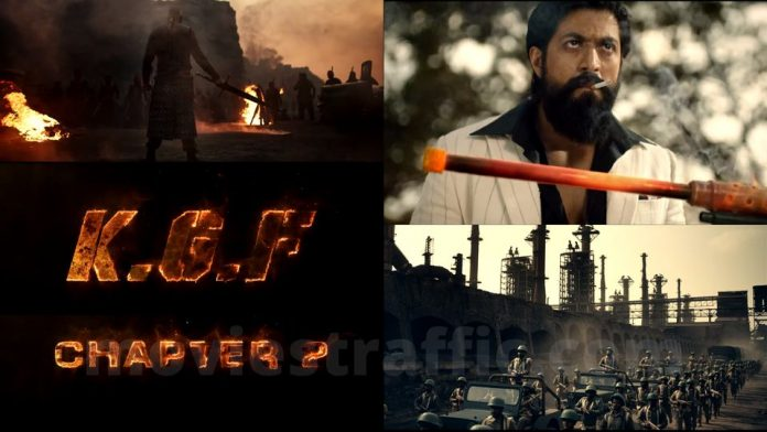 KGF Chapter2 Teaser breaks the record